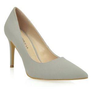 NEW Shoe Republica Grey heels